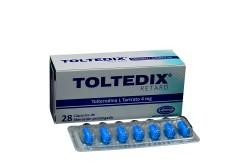 Toltedix Retard 4 mg Caja Con 28 Cápsulas De Liberación Prolongada Rx