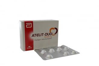 Atelit Duo 75 / 100 mg Caja Con 28 Tabletas Rx4