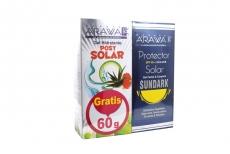 Protector Solar Sundark Spf 60 Tubox120g Gel Adultos Gratis Gel Hidrante Post Solar / Lab Pronabell
