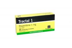 Tractal 1 Caja Con 30 Comprimidos Recubiertos 1 mg Rx4