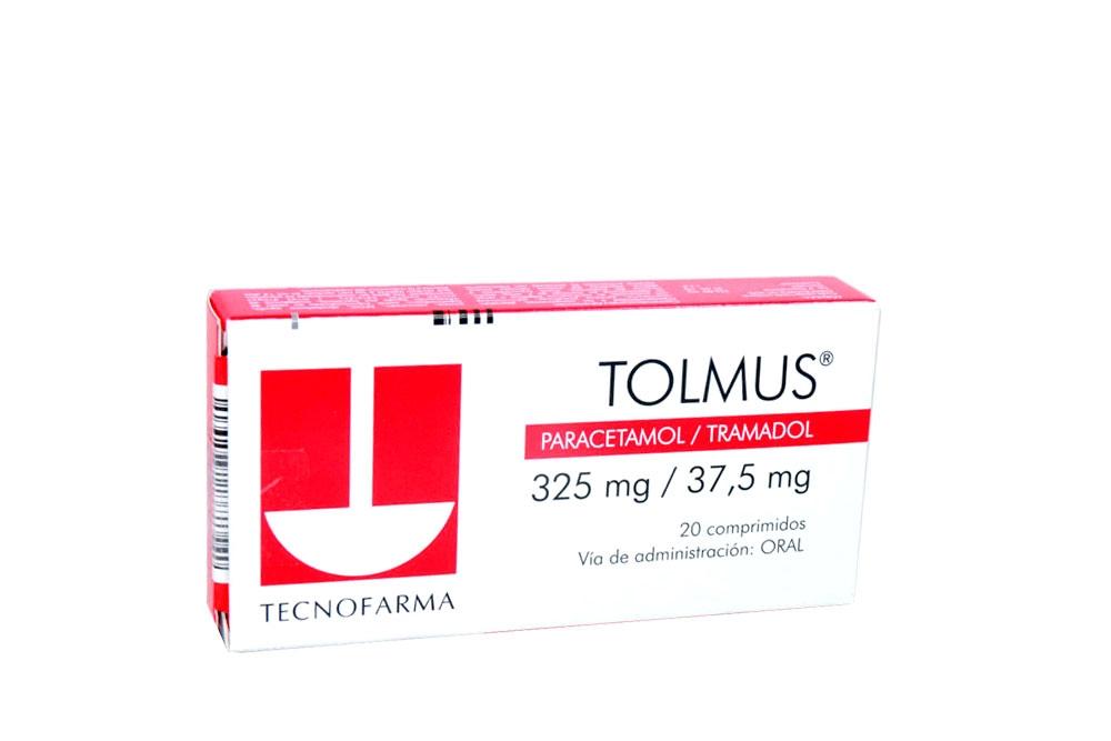 Tolmus 325 / 37,5 mg Caja Con 20 Comprimidos rx4