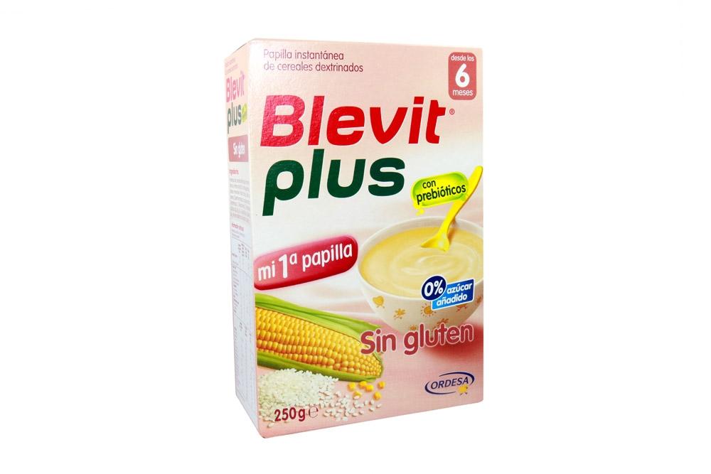 Blevit Plus Papilla Sin Gluten Caja Con 250 g