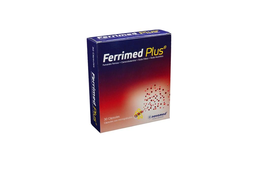 Ferrimed Plus Caja Con 30 Cápsulas Rx