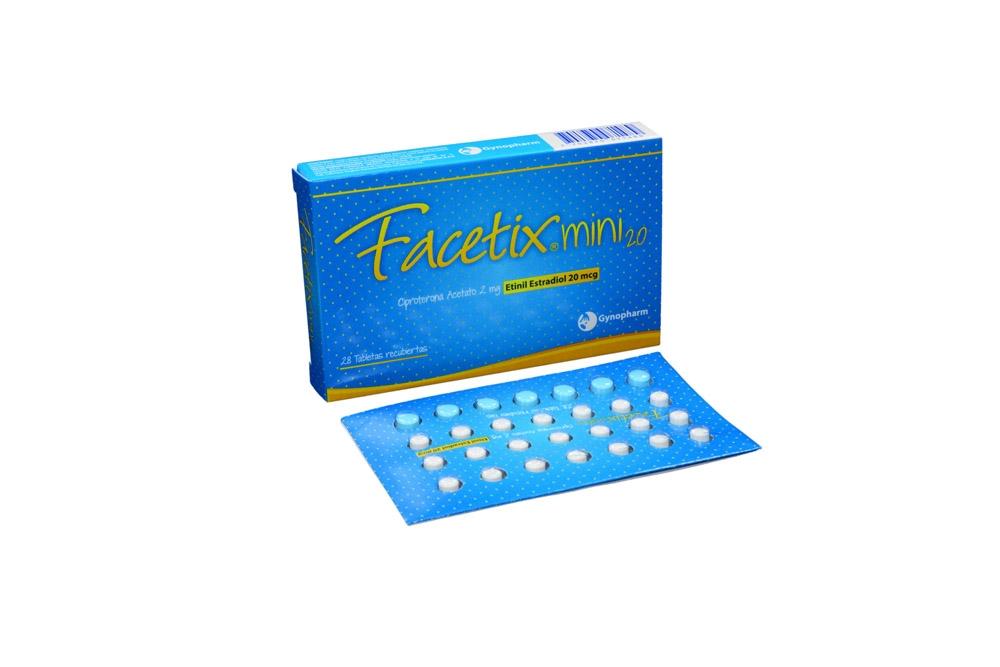 Facetix Mini Caja Con 28 Tabletas Recubiertas Rx