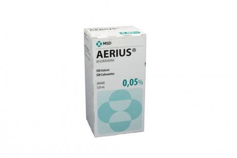 Aerius 0.05 % Caja Con Frasco Con 120 mL Rx