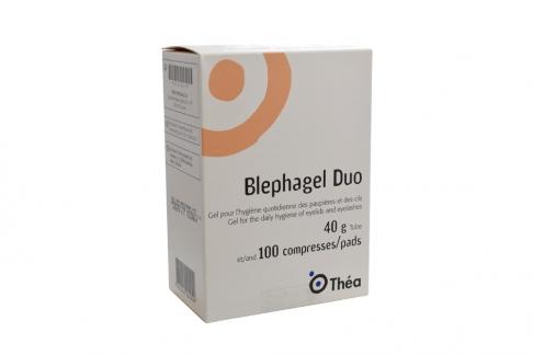Blephagel Duo Gel 40 g Caja Con Tubo Con 100 Pads