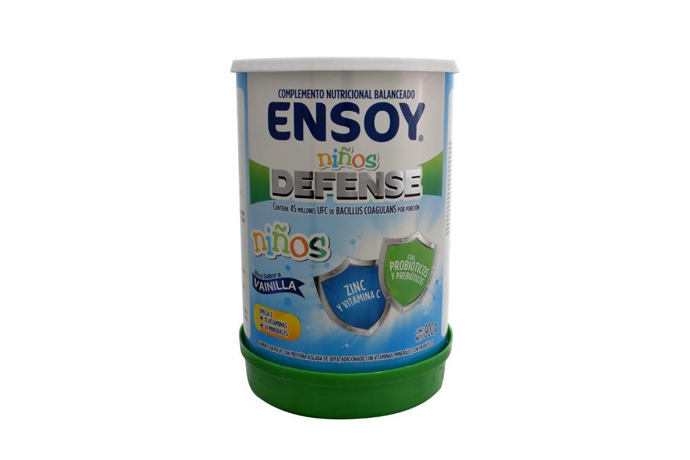 Ensoy Niños Defense Polvo Tarro Con 900 g - Sabor Vainilla