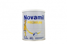 Novamil PREMIUM 1 Tarro Con 400 g Con Cuchara Plástica - 0 a 6 meses