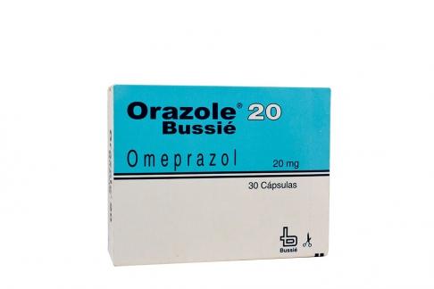 Orazole 20 mg Caja Con 30 Cápsulas Rx4