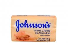 Jabón Johnson's Humectante Aceite De Almendras Empaque Con Barra Con 125 g