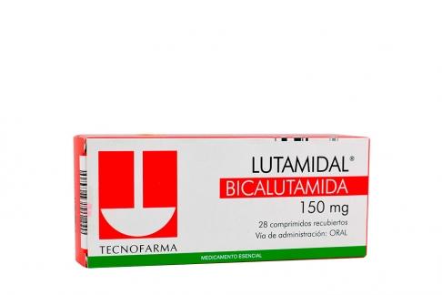 Lutamidal 150 mg Caja Con 28 Comprimidos Rx1 Rx4