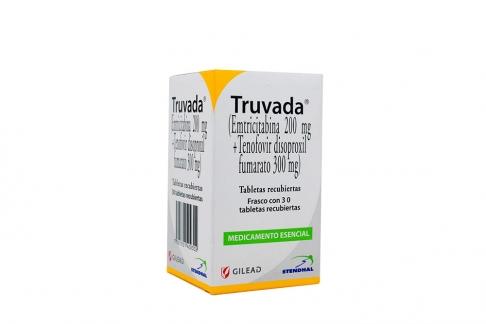 Truvada 200 / 300 mg Caja Con Frasco Con 30 Tabletas Rx4
