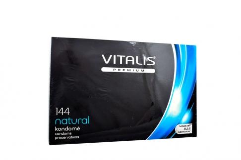 Condones Vitalis Natural Caja Con 144 Unidades