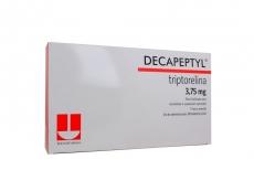 Decapeptyl 3,75 mg Caja Con 1 Frasco Vial En Vidrio Tipo I Liofilizado Y 1 Ampolla En Vidrio Tipo I Rx4 rx1