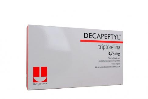 Decapeptyl 3.75 mg Polvo Liofilizado Caja Con 1 Vial Rx1 Rx4