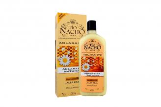 Tío Nacho Acondicionador Aclarante Natural Caja Con Frasco Con 415 mL