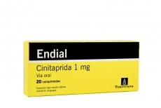 Endial 1 mg Caja Con 20 Comprimidos Rx