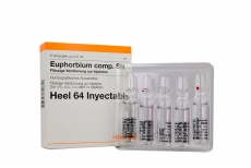 Euphorbium -Compositum Caja Con 5 Ampollas