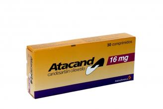 Atacand 16 mg Caja Con 30 Comprimidos Rx4