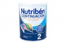 Nutribén Continuación 2 Tarro Con 400 g + 6 Meses