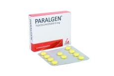 Paralgen 8 mg Caja Con 10 Tabletas Recubiertas Rx