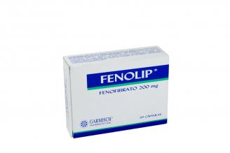 Fenolip 200 mg Caja Con 30 Tabletas Rx4