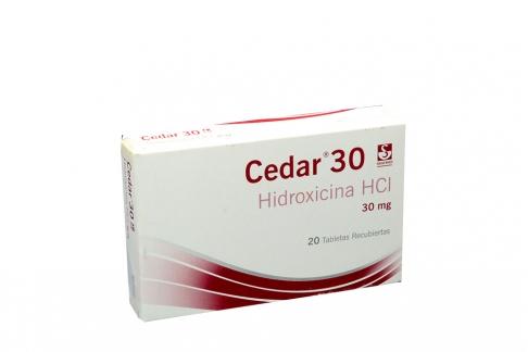 Cedar 25 mg Caja Con 20 Tabletas Rx