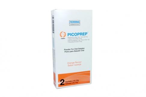 PICOPREP Polvo 3.5 / 12 g / 10 mg Caja Con 2 Sobres De 16.13 g - Sabor A Naranja Rx