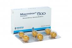 Macmiror Complex 500 500 mg / 200.000 U.I Caja Con 6 Óvulos Vaginales Rx