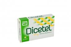 Dicetel 100 mg Caja Con 14 Tabletas Recubiertas Rx