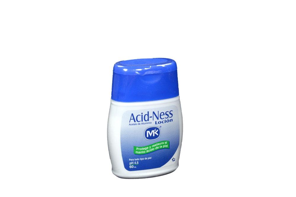 Acid-Ness Loción Frasco Con 60 mL