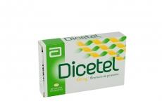Dicetel 100 mg Caja Con 28 Tabletas Recubiertas Rx
