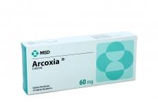 Arcoxia 60 mg Caja Con 14 Tabletas Recubiertas Rx4