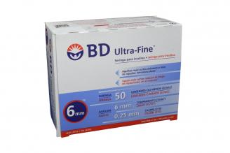 Bd Ultra-Fine 50 Jeringa Para Insulina Caja Con 100 Unidades