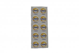 Cebión 500 mg Sobre Con 10 Tabletas - Sabor Tropical