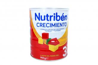 Nutribén Crecimiento 3 A Partir De 12 Meses Tarro Con 900 g