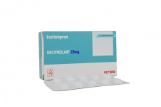 Escitrolam 20 mg Caja Con 30 Tabletas Rx4