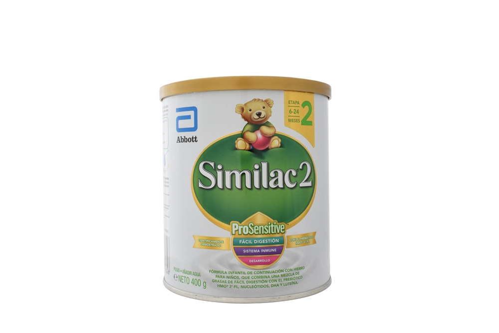 Similac 2 ProSensitive De 6 a 24 Meses Tarro Con 400 g