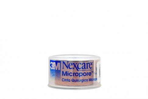 3M Micropore Cinta Quirúrgica Caja X 1 Unidad