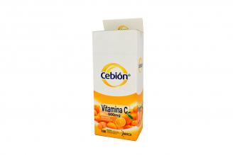 Cebión 500 mg Caja Con 100 Tabletas Masticables- Sabor Naranja