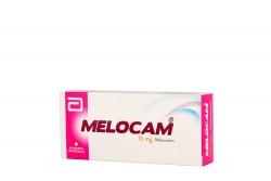 Melocam 15 mg Caja Con 30 Tabletas Dispersables Rx