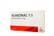 Rumonal 7.5 mg Caja x 10 Tabletas Rx