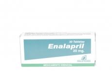 Enalapril 20 mg Caja Con 30 Tabletas Rx