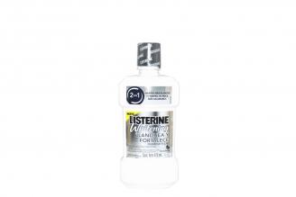 Listerine Whitening 2 En 1 Frasco Con 473 mL