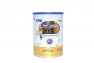 Progress Gold Etapa 3 Alimento Lácteo Tarro Con 900 g