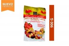 Nutty Berry Mix Mezcla De Frutas y Nueces Nature's Heart Empaque Con 900 g