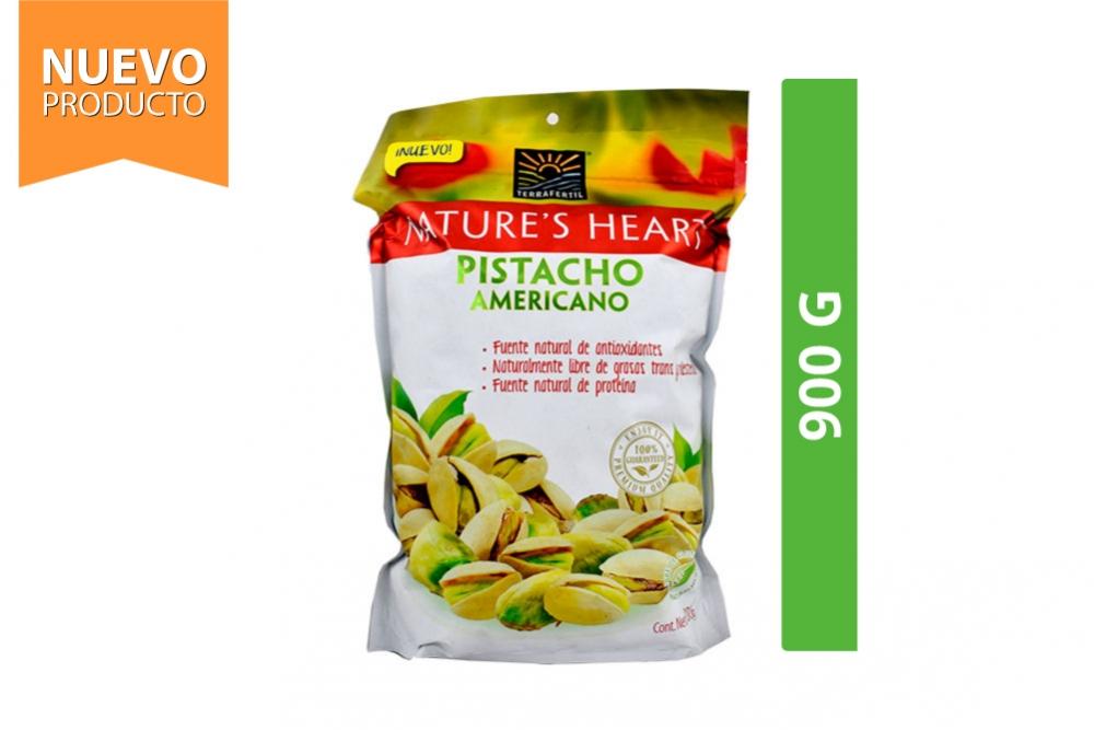 Pistacho Americano Nature's Heart Empaque Con 900 g