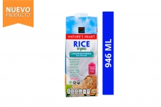Rice Organic Bebida De Arroz Nature's Heart Frasco Con 946 mL