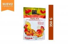 Trail Mix Fusión De Frutas Deshidratadas y Nueces Nature's Heart Empaque Con 350 g