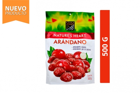 Arándano Nature's Heart Bolsa Con 500 g